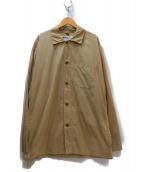 MHL.(エムエイチエル)の古着「コットンシャツ」 ベージュ