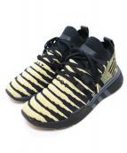 adidas(アディダス)の古着「ローカットスニーカー」|ブラック×ゴールド