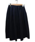 Demi-Luxe BEAMS(デミルクスビームス)の古着「コットンタックスカート」|ネイビー