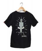 WACKO MARIA(ワコマリア)の古着「バックプリントTシャツ」 ブラック