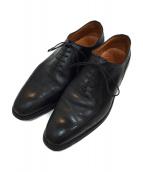 SCOTCH GRAIN(スコッチグレイン)の古着「スワールトゥドレスシューズ」|ブラック