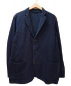 COMOLI(コモリ)の古着「インレイツイルジャケット」 ネイビー