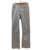 JACOB COHEN(ヤコブコーエン)の古着「デニムパンツ」|ライトグレー