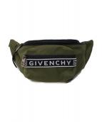GIVENCHY(ジバンシィ)の古着「ボディーバッグ」|カーキ×ブラック