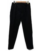 nestrobe confect(ネストローブ コンフェクト)の古着「ウールプレスパンツ」 ブラック