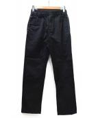 UNUSED(アンユーズド)の古着「イージーパンツ」|ブラック×ホワイト