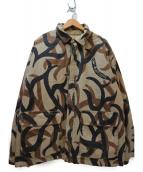 Supreme(シュプリーム)の古着「リバーシブル中綿ジャケット」|ベージュ×ブラック