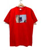 Supreme(シュプリーム)の古着「プリントTシャツ」|レッド×ブルー