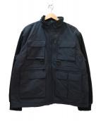Supreme(シュプリーム)の古着「フリースジャケット」|ブラック