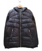 DIESEL(ディーゼル)の古着「フーデッド中綿ジャケット」 ブラック