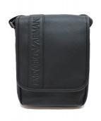 EMPORIO ARMANI EA7(エンポリオアルマーニEA7)の古着「ロゴショルダーバッグ」|ブラック