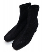 DIANA(ダイアナ)の古着「ソックスブーツ」|ブラック