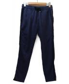 MONCLER(モンクレール)の古着「リブスウェットパンツ」|ネイビー×ブラック