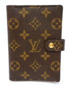 LOUIS VUITTON(ルイヴィトン)の古着「手帳カバー」 ブラウン×ベージュ