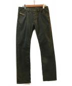 DIESEL(ディーゼル)の古着「デニムパンツ」|オリーブ