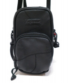 Supreme(シュプリーム)の古着「レザーショルダーバッグ」|ブラック