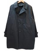 g.m.r.n for tomorrowland(ジーエムアールエヌフォートゥモローランド)の古着「トレンチコート」|ブラック