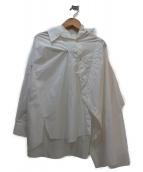 AP STUDIO(エーピーステゥディオ)の古着「変形シャツ」|ホワイト