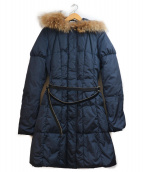 PAOLA FRANI(パオラフラーニ)の古着「ダウンコート」|ネイビー