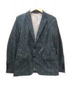JOSEPH(ジョセフ)の古着「ペイズリー柄テーラードジャケット」|グレー
