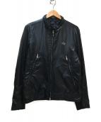 FRED PERRY(フレッドペリ)の古着「ナイロンジャケット」|ブラック