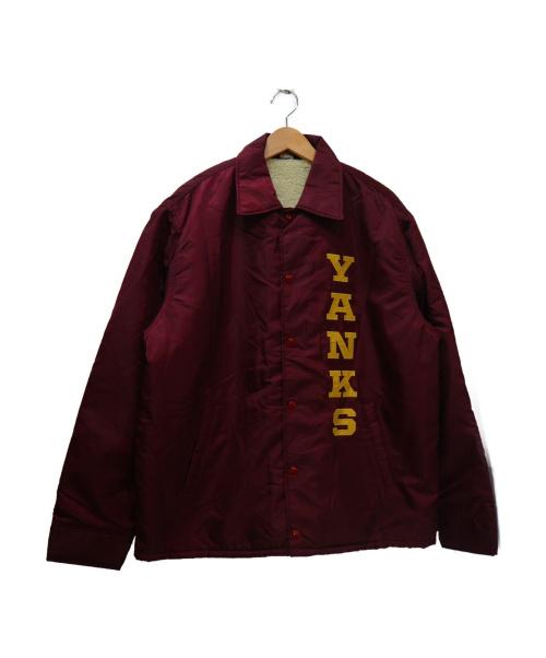 WHITESVILLE(ホワイツビル)WHITESVILLE (ホワイツビル) コーチジャケット レッド サイズ:40の古着・服飾アイテム