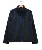 MARMOT(マーモット)の古着「フリースジャケット」|ブラック×ブルー