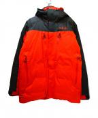 Rab(ラブ)の古着「ダウンジャケット」 オレンジ×ブラック