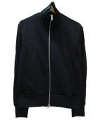 GROUND Y(グラウンドワイ)の古着「ラインジャージートラックジャケット」|ブラック