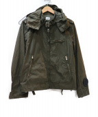 C.P COMPANY(シーピーカンパニ)の古着「ゴーグルジャケット」|グリーン