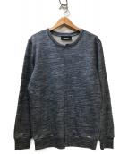 DIESEL(ディーゼル)の古着「切替クルーネックスウェット」|ブルー