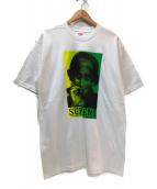 Supreme(シュプリーム)の古着「プリントTシャツ」|ホワイト×グリーン