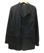BURBERRY BLACK LABEL(バーバリーブラックレーベル)の古着「裏ノバジップコート」|ブラック
