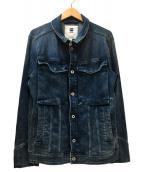 G-STAR RAW(ジースターロゥ)の古着「デニムジャケット」|スカイブルー
