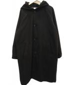 Luis(ルイス)の古着「フーデッドコート」 ブラック