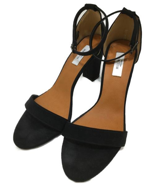 MILLIWM(ミリウム)MILLIWM (ミリウム) ストラップサンダル ブラック サイズ:L STRAP SANDALの古着・服飾アイテム