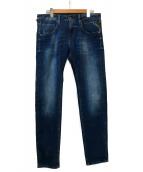 REPLAY(リプレイ)の古着「ストレッチジーンズ」|ブルー