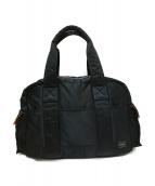 PORTER(ポーター)の古着「ボストントートバッグ」|ブラック