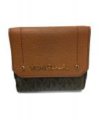 MICHAEL KORS(マイケルコース)の古着「3つ折り財布」|ブラウン
