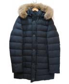 HERNO(ヘルノ)の古着「コヨーテファー付きダウンコート」|ブラック