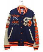 TED COMPANY(テッドカンパニー)の古着「アワードジャケット」|ネイビー×オレンジ