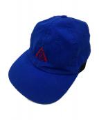 NIKE ACG(ナイキエーシージー)の古着「ロゴ刺繍キャップ」|ブルー×ブラック
