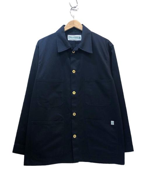 UNIVERSAL OVERALL COMPANY(ユニバーサルオーバーオールカンパニー)UNIVERSAL OVERALL COMPANY (ユニバーサルオーバーオールカンパニー) カバーオール ネイビー サイズ:Mの古着・服飾アイテム