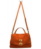 ZANELLATO(ザネラート)の古着「2WAYバッグ」 オレンジ
