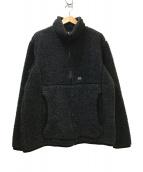 snow peak(スノーピーク)の古着「ウールフリースジャケット」 ブラック