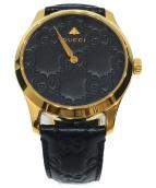 GUCCI(グッチ)の古着「腕時計」|ブラック