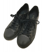 COACH(コーチ)の古着「スニーカー」|ブラック