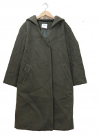 TONAL(トーナル)の古着「ビーバー2WAYフードコート」 グリーン