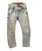 G-STAR RAW(ジースターロウ)の古着「デニムパンツ」|スカイブルー