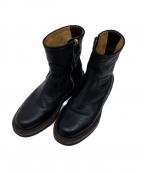 foot the coacher(フットザコーチャー)の古着「レザーブーツ」 ブラック